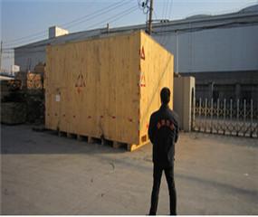 大型设备包装成品